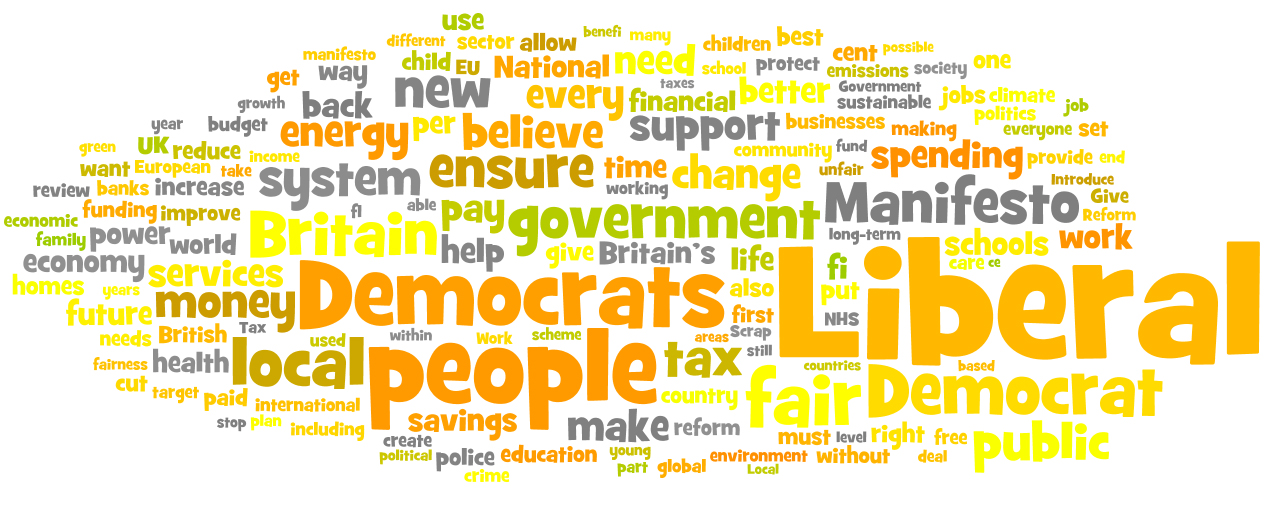Will you change your vote to the Lib Dems this year ?