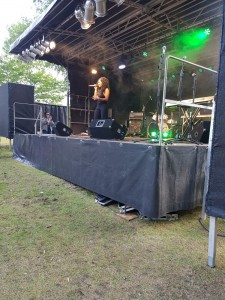 Relley C on Best of Brum Stage at Simmer Down 17