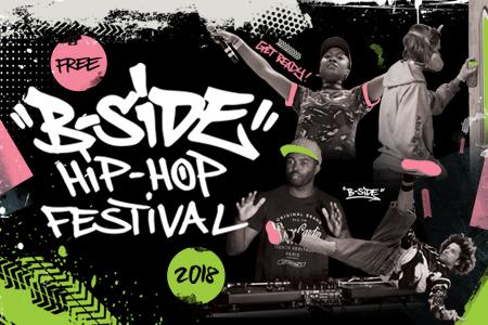 Free Birmingham Festivals: B-Side Hip Hop 2018